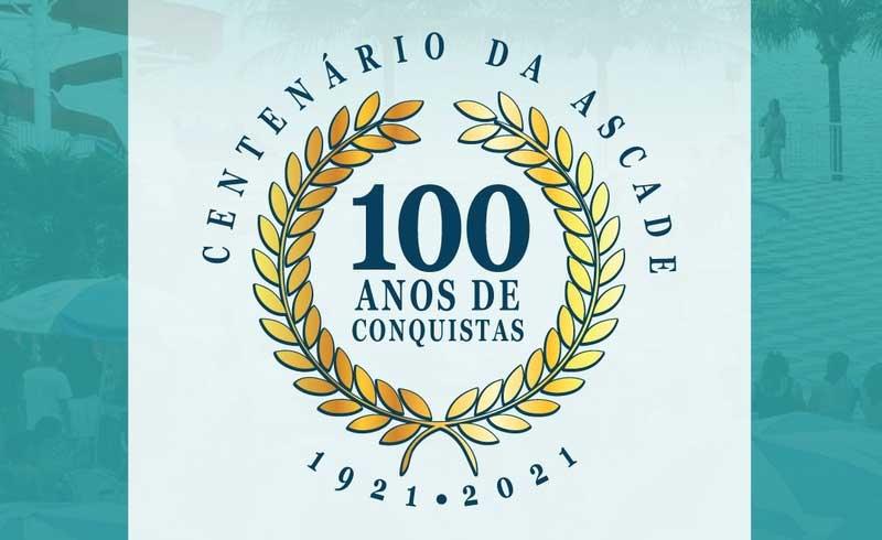 Em Março a Ascade comemora 100 Anos de fundação